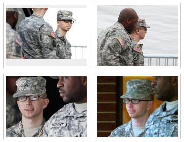 Bradley Manning photos