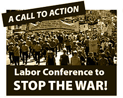 labor anti-war conference