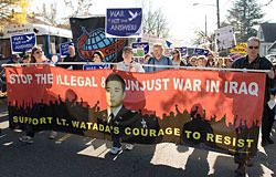 watada marchers