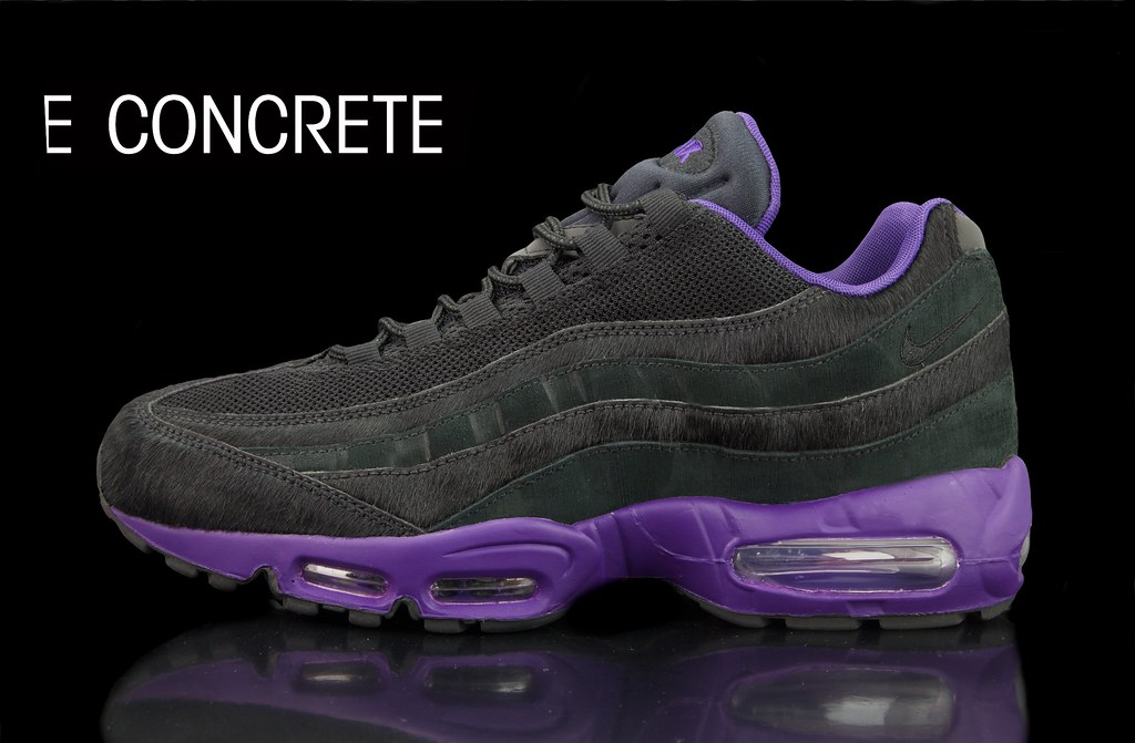 47aff95871 Nike Air Attack Pack - Air Max 95 Black/Purple