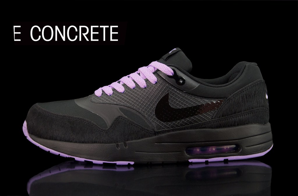 6bd82bfd4d Nike Air Attack Pack - Air Max 1 Black/Purple