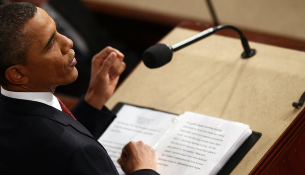 Obama's 2012 State of the Union Address