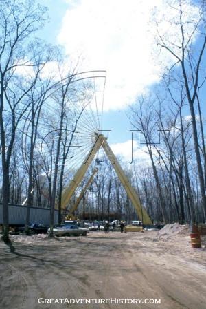 Giant Wheel Construction