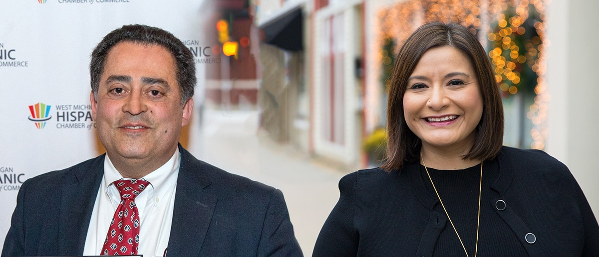 Jim Roberts and Milinda Ysasi