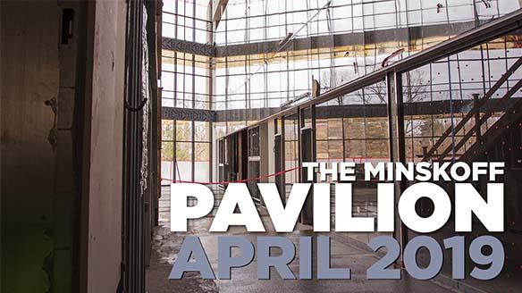 The Minskoff Pavilion April 2019