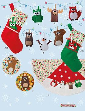 Kerstdecoraties Maken Simply Haken Amigurumi Friends En