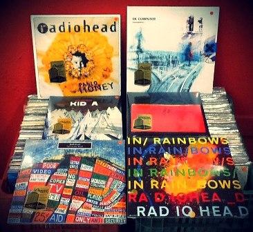 Lps De Mpb Lps Do Radiohead Feira De Discos Novidades