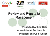 Free Webinar - Review and Reputation Management