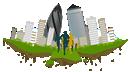 City v Wharf logo