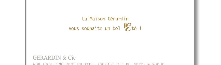 Gérardin et Cie