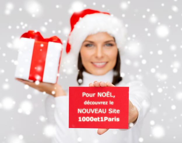 Pour NOËL, découvrez le NOUVEAU Site 1000et1Paris