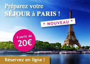 Réservez vos Visites et vos Excursions à Paris et en France