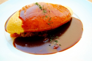 Recette Omurice