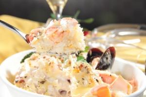 Riz au fruits de mer