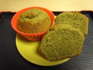 Muffin the vert sans gluten