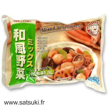 Légumes japonais