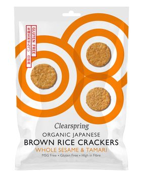 Crackers au sésame blanc