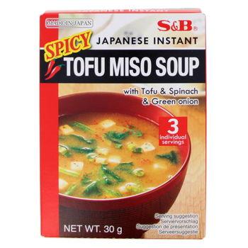 Soupe miso épicée