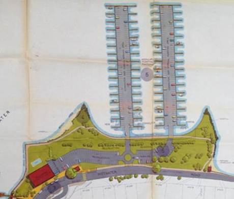 Warringah Council 1986 Combined Floating carpark/commuter boat wharf proposal