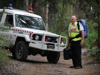 Pittwater deputy mayor Ian White is captain of the Scotland Island Rural Fire Brigade. SIMON COCKSEDGE
