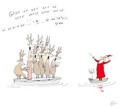 Carols a-float