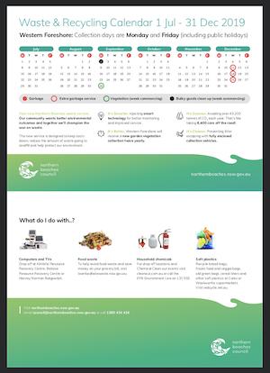 WFS Waste Calendar