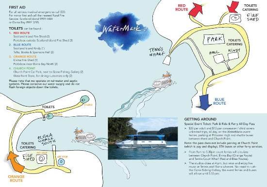 Watermarks map
