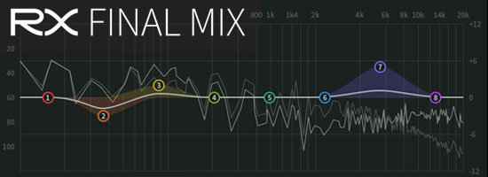 Audio Tools for Post Production, New iZotope RX Final Mix, 30 Day