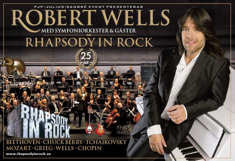 Rhapsody In Rock - 25 år - Jubileumsturné
