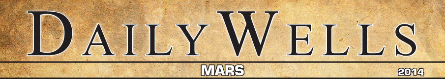 Daily Wells MARS 2014