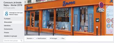 Groupe Facebook Concours Je Brode Sajou février 2019